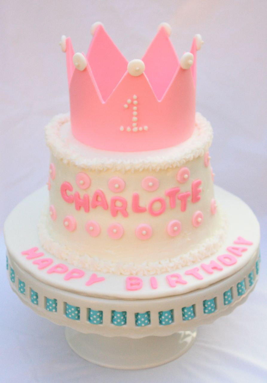 Cakealicious Surprises First Birthday Cake Princess Theme