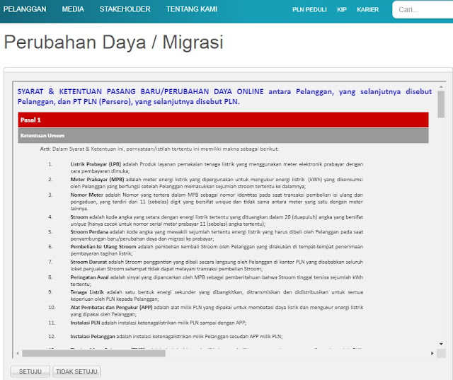 Cara Tambah Daya Listrik PLN Online Terbaru
