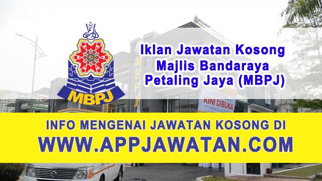 Jawatan Kosong di Majlis Bandaraya Petaling Jaya (MBPJ) - 21 Februari 2017