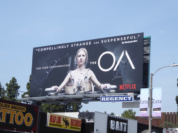 The OA season 1 Emmy FYC billboard