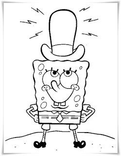 ausmalbilder zum ausdrucken: ausmalbilder spongebob squarepants
