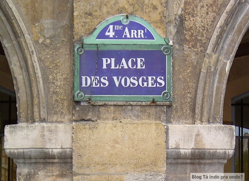 Place des Vogues Paris
