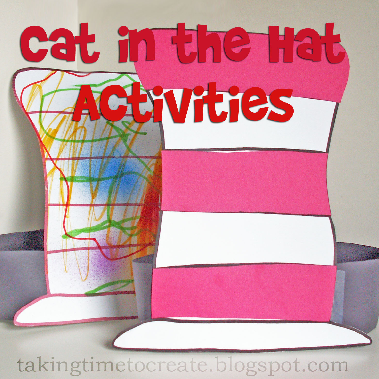 Taking Time To Create Dr Seuss A Thon Week 1 The Cat In