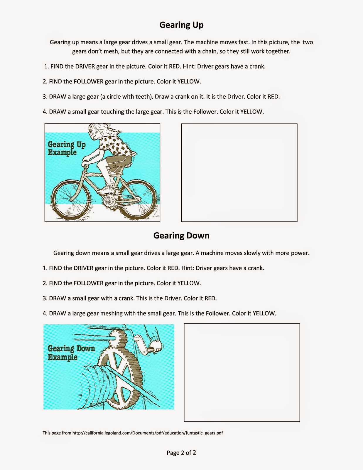 Engineer Worksheet Homeschool