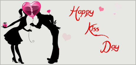 kiss day instagram image