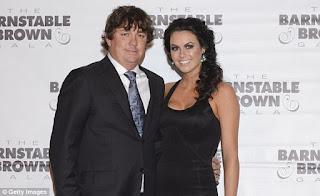 Jason with his wife Amanda