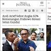 Andi Arief Sebut Setan Gundul Bisiki Prabowo Menang 62%, Netizen Kaitkan dengan Survei Demokrat