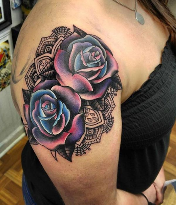 tattoos design ideas 32 best and attractive rose tattoo designs idea for women. Black Bedroom Furniture Sets. Home Design Ideas