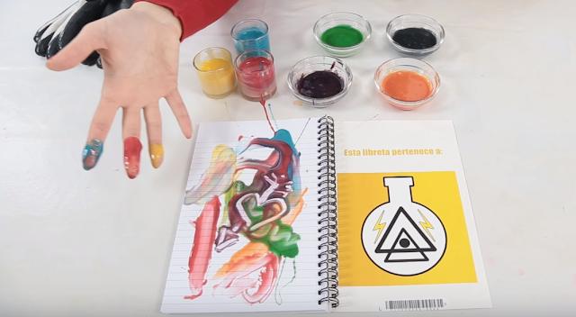 pinturas, comestibles, leche, condensada, colorantes