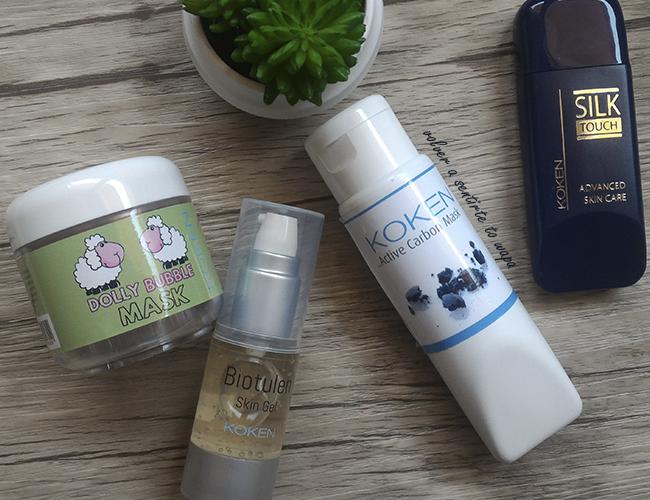 Productos de cuidado facial: Mascarilla de Burbujas y de Carbón Activo de KOKEN