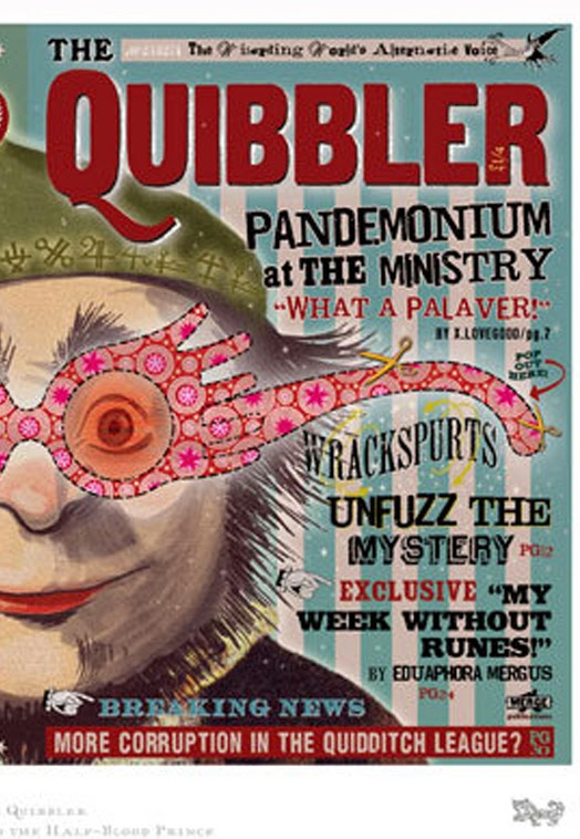 The Library of Brittany : Halloween HandBOOK: Luna ...Quibbler Printable