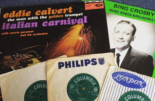 Tenby Charity Shop Music Finds - August, 2017