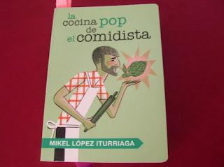 Libro de recetas de cocina de Mikel López Iturriaga.