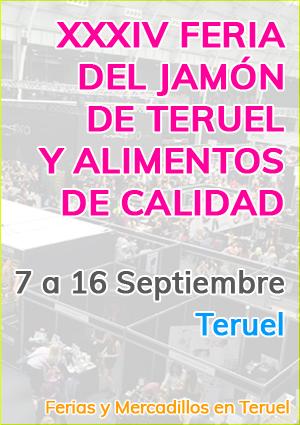 XXXIV Feria del jamón de Teruel y alimentos de calidad