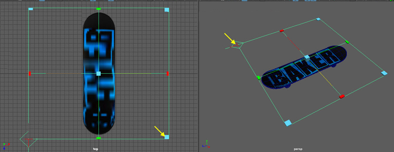 update Skateboard 2D Project Mapping for maya2016 H