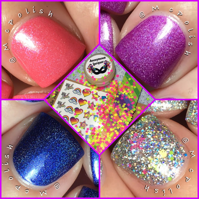 Awesome Sauce indie Box - Lisa Frank - McPolish