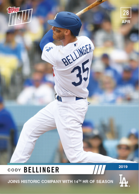 Dodgers Blue Heaven 2019 Topps Now 150 154