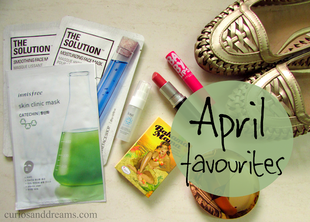 April favourites, currently loving, hooked onto