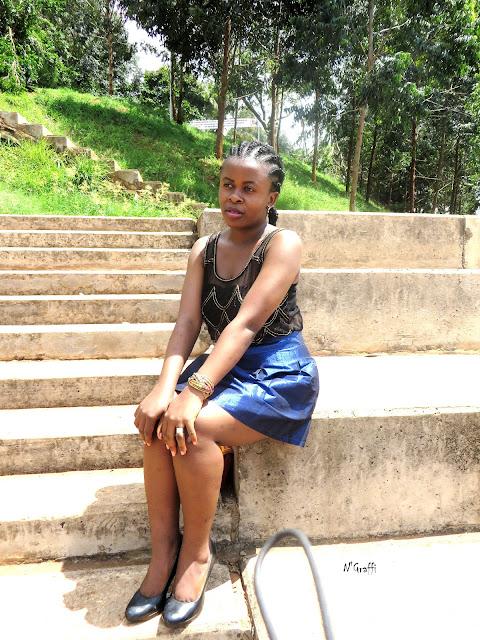 fashion blogger cameroon bamenda streets,