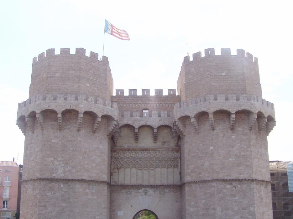 Turnurile Serranos, Valencia