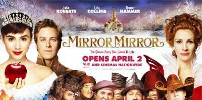 Mirror Mirror 2012 Dual Audio 300MB Hindi - English BluRay