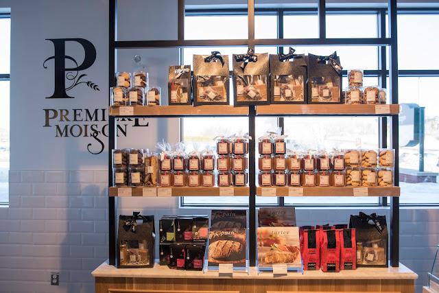 La nouvelle Boulangerie Première Moisson à Québec