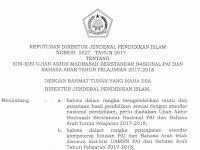 Kisi-Kisi UAMBN PAI Dan Bahasa Arab TP 2017-2018 File PDF