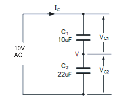Capacitive Voltage Divider Circuit Explained ~ Electronic ...