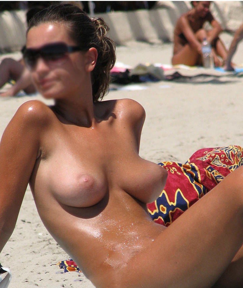 first time topless beach