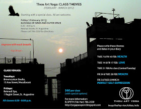 Now Is Wow Too Thou Art Yoga Class Themes Feb 3 March 6 2012