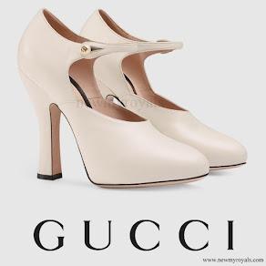 Charlotte Casiraghi wore Gucci Light Leather Pump