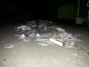 15 Kotak Suara Dibakar Caleg PDIP Maluku