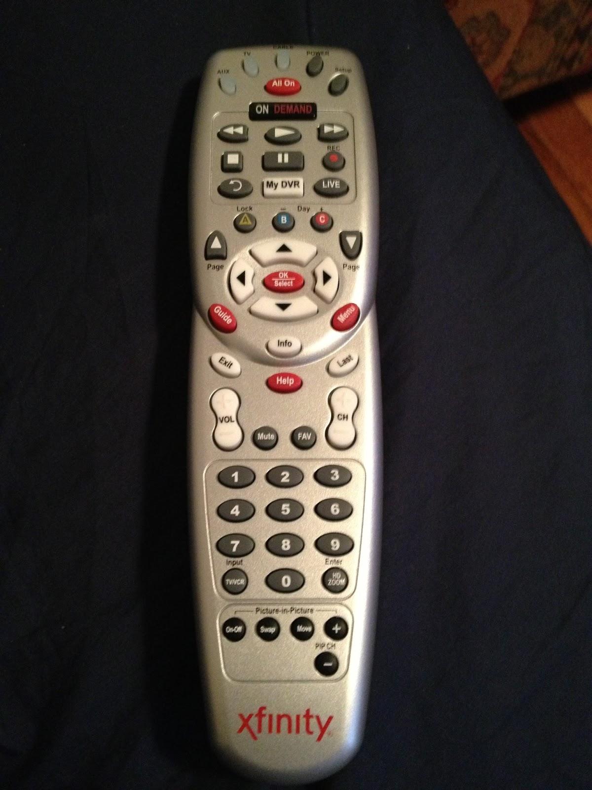 predator times: Programming Comcast XFINITY Remote to Logitech Z