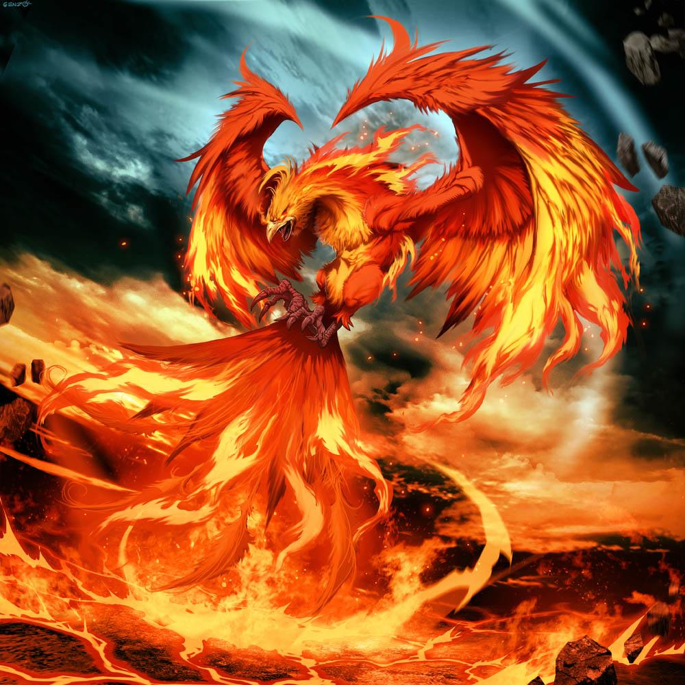 89 Gambar Animasi Elang Api HD