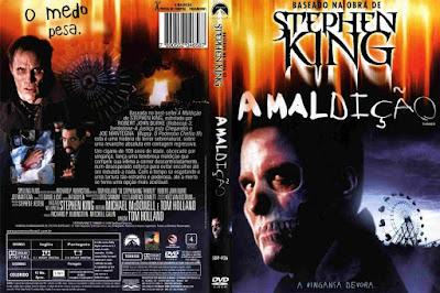 Filme A Maldição (Thinner) 1996 DVD Capa