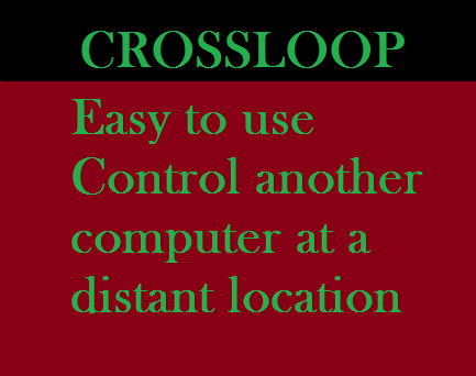CrossLoop Application-Free software,Help Your Family Friends and get help in need