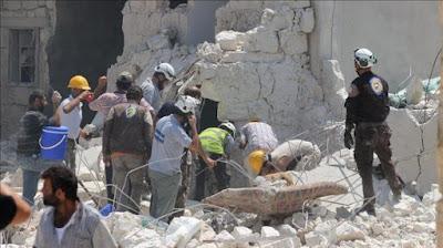 Jet Rusia dan Suriah Bombardir Rumah Sakit Terbesar di Aleppo Timur