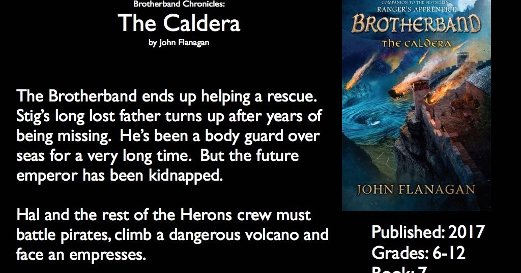 the caldera the brotherband chronicles