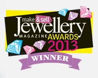 Make & Sell Jewellery Magazine wins award in 2013