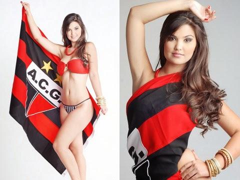 Paula Aires Musa do  Atlético Clube Goianiense em 2011