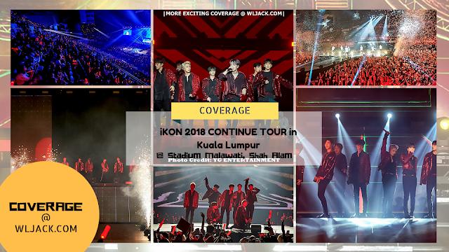 [Coverage] iKON 2018 CONTINUE TOUR in Kuala Lumpur