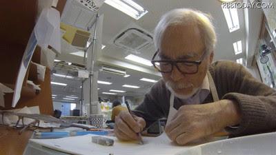 La última película de Hayao Miyazaki inicia su producción de tres años en octubre.