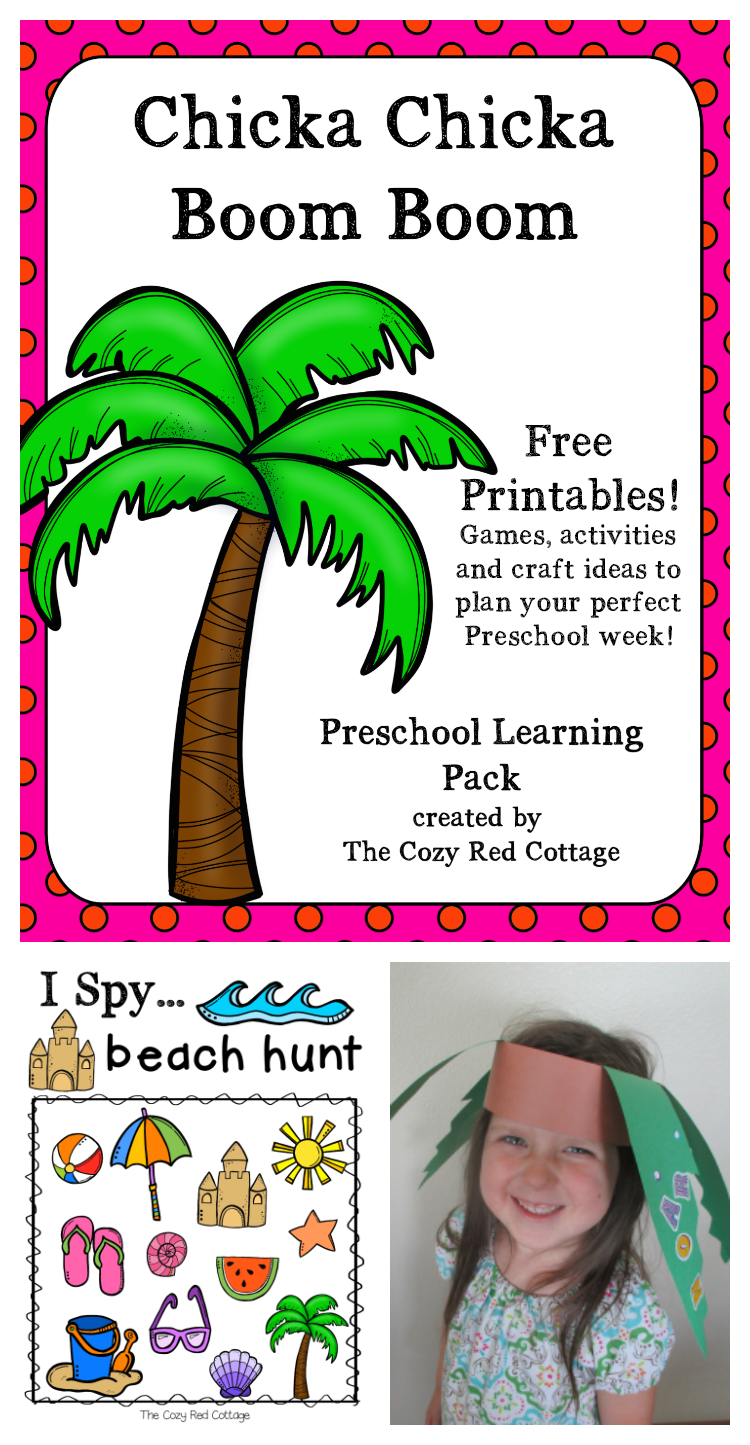 The Cozy Red Cottage Chicka Chicka Boom Boom And Beach Theme