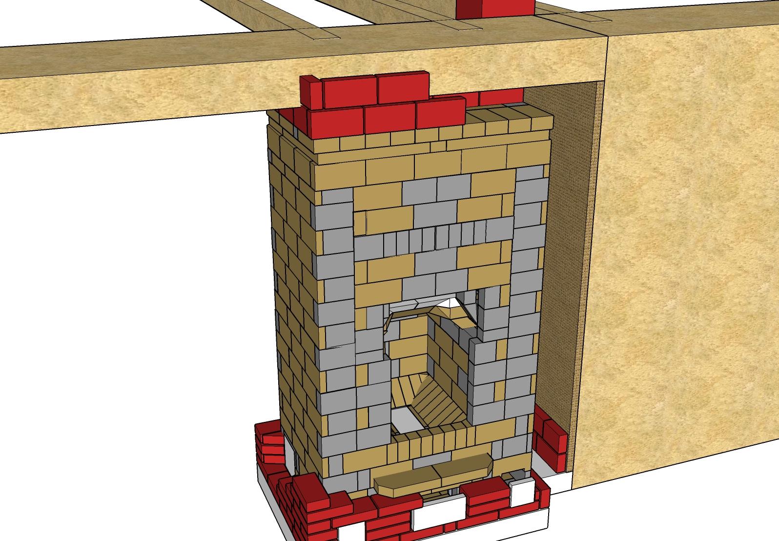 Peut On Installer Un Poele A Bois Soi Meme auto-construction avec plans d'un poêle de masse maçonné de