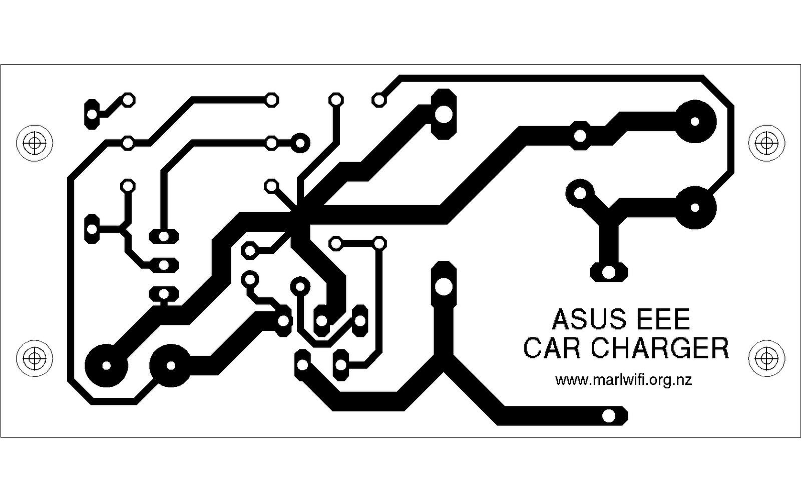 A 12v Car Charger For Asus Eee Notebook