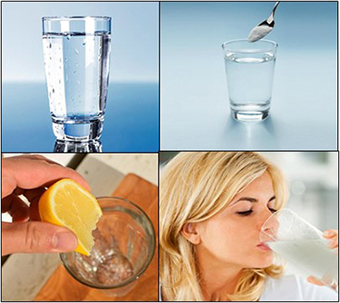 baking soda, lemon, water, heatlh benefits