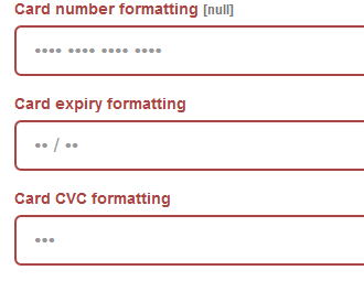 jQuery Credit Card Forms Inputs validation and Card Data