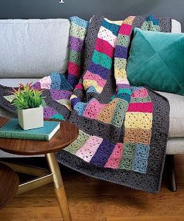 Scraps afghan crochet pattern