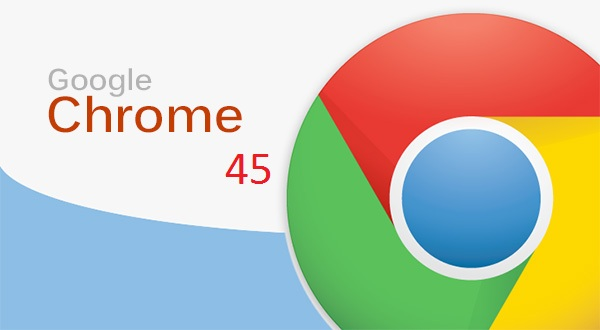 google chrome 45