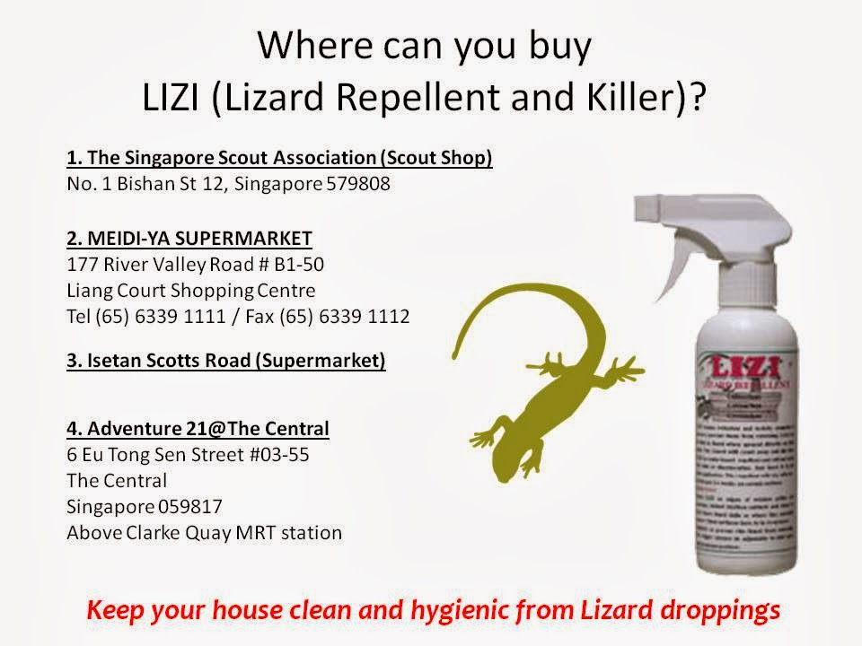 BENJE MARKETING PTE LTD: Official Release of LIZI (Lizard Repellent